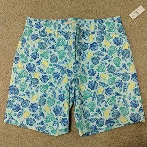 Talbot's Bermuda Shorts with Shell print